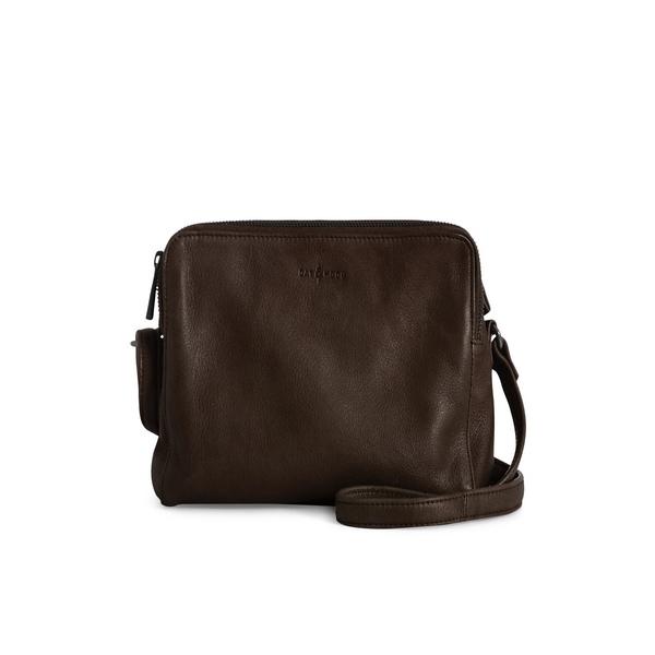 ダイアンドムード レディース ショルダーバッグ バッグ Hannah Leather Crossbody Bag Chocolate