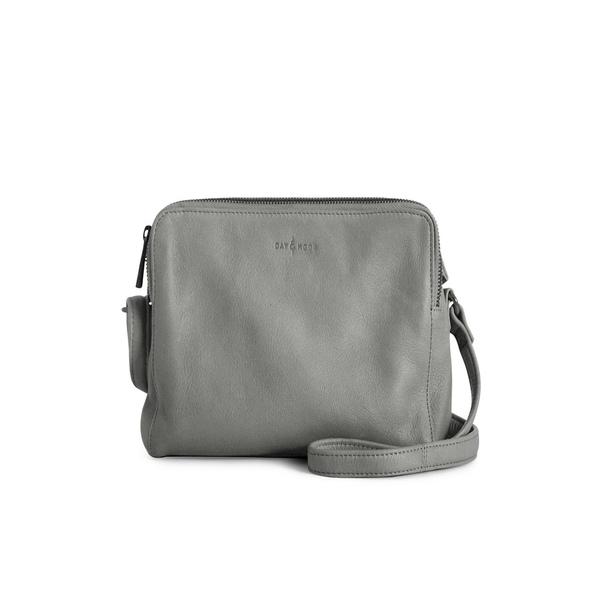 ダイアンドムード レディース ショルダーバッグ バッグ Hannah Leather Crossbody Bag Grey