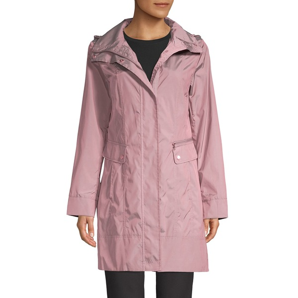 コールハーン レディース コート アウター Packable Raincoat Mauve