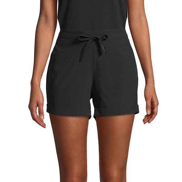 マークニューヨーク レディース カジュアルパンツ ボトムス Cuffed Drawstring Shorts Black