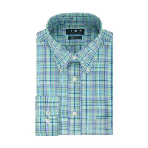 ラルフローレン メンズ シャツ トップス Checkered Dress Shirt Green Multi