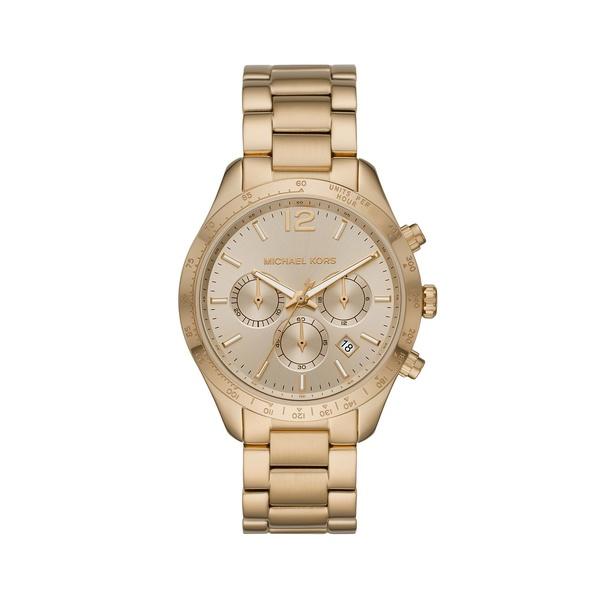 マイケルコース レディース 腕時計 アクセサリー Layton Goldtone Stainless Steel Chronograph Watch Gold