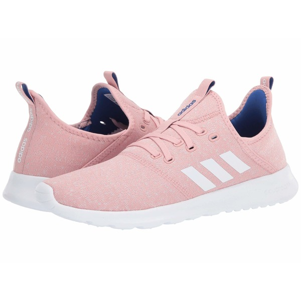 アディダス レディース スニーカー シューズ Cloudfoam Pure Pink Spirit/Chalk White/Team Royal Blue