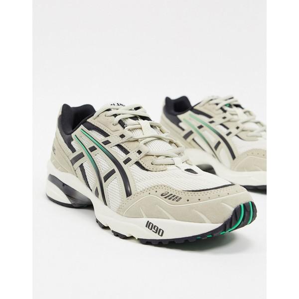 アシックス メンズ スニーカー シューズ Asics SportStyle gel 1090 sneakers in stone Stone