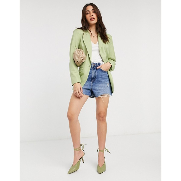 エイソス レディース ジャケット&ブルゾン アウター ASOS DESIGN perfect blazer in green Green