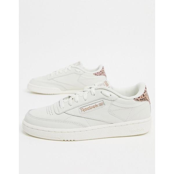 リーボック レディース スニーカー シューズ Reebok Club C 85 Sneakers In White Cream