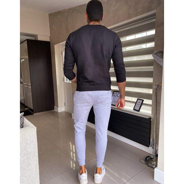 グッドフォーナッシング メンズ カジュアルパンツ ボトムス Good For Nothing skinny jogger in gray with logo Gray