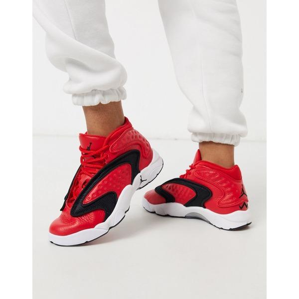 ジョーダン レディース スニーカー シューズ Nike Air Jordan OG sneakers in red University red/white