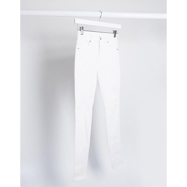ドクターデニム レディース デニムパンツ ボトムス Dr Denim Lexy mid rise super skinny jeans White