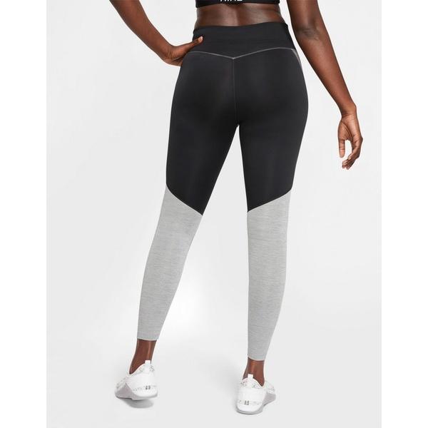 ナイキ レディース レギンス ボトムス Nike Training one tight color block leggings in gray Gray