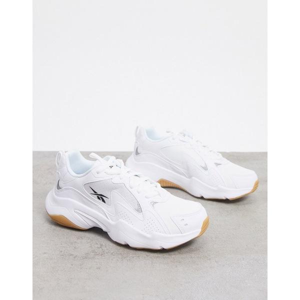 リーボック レディース スニーカー シューズ Reebok Classics Royal Unisex turbo impulse sneakers in white White/black/cool sha
