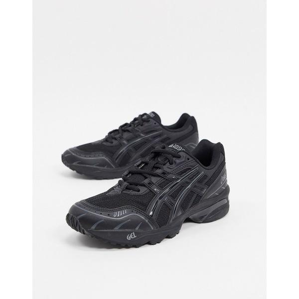 アシックス メンズ スニーカー シューズ Asics SportStyle 1090 sneakers in black Black