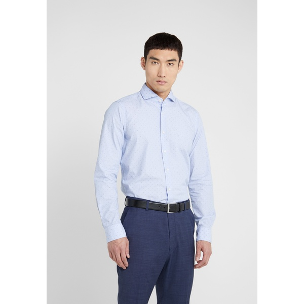 ジョープ メンズ シャツ トップス PAJOS SLIM FIT - Formal shirt - light blue