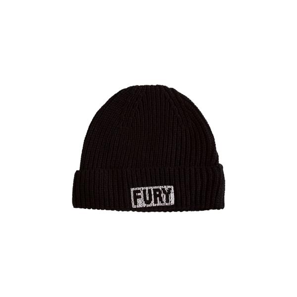 エッセンシャルアントワープ レディース 帽子 アクセサリー Essentiel Beanie With 'fury' Embroidery -