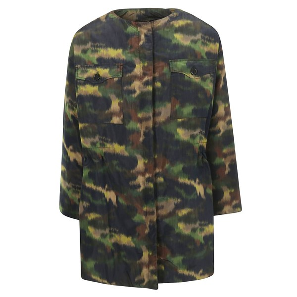 ロシャス レディース ジャケット&ブルゾン アウター Rochas Camouflage Coat -