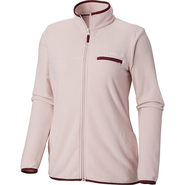 コロンビア レディース ジャケット&ブルゾン アウター Columbia Women's Mountain Crest Full Zip Mineral Pink / Deep Madeira
