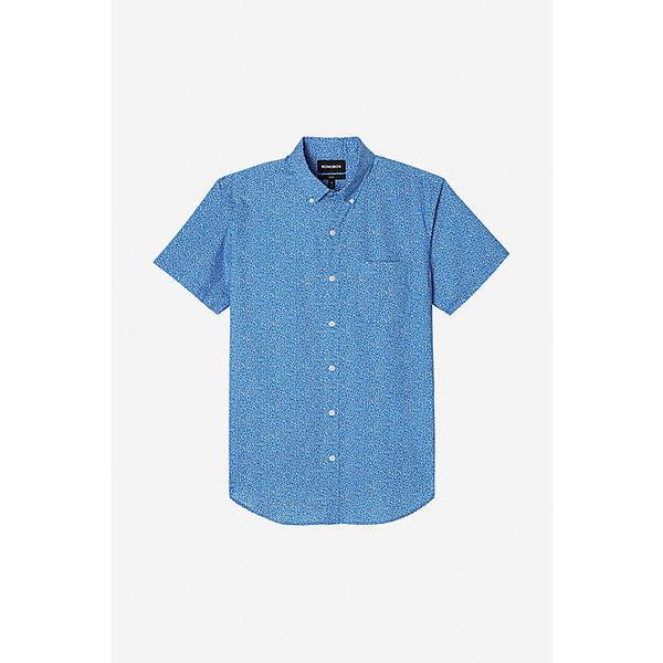 ボノボス メンズ シャツ トップス Bonobos Men's Riviera SS Shirt Doodle Toss Ibiza Blue