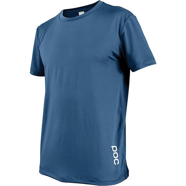 ピーオーシー メンズ サイクリング スポーツ POC Sports Men's Resistance Enduro Light Tee Furfural Blue