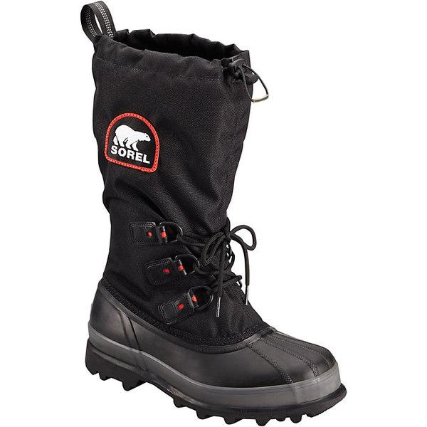 ソレル メンズ ブーツ&レインブーツ シューズ Sorel Men's Bear XT Boot Black / Red Quar