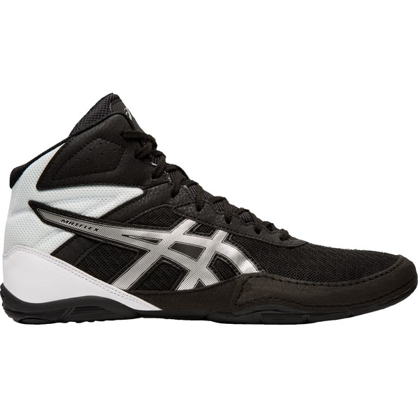 アシックス メンズ スニーカー シューズ ASICS Men's Matflex 6 Wrestling Shoes BlackSilver