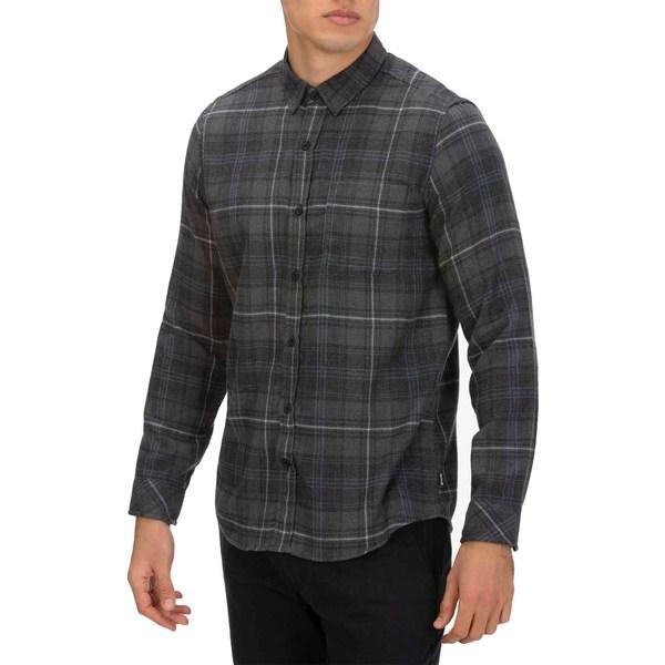 ハーレー メンズ シャツ トップス Hurley Men's Vedder Washed Long Sleeve Woven Shirt Anthracite