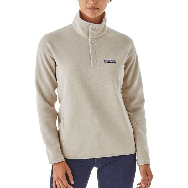 パタゴニア レディース パーカー・スウェットシャツ アウター Patagonia Women's Lightweight Better Sweater Marsupial Fleece Pullover BleachedStone