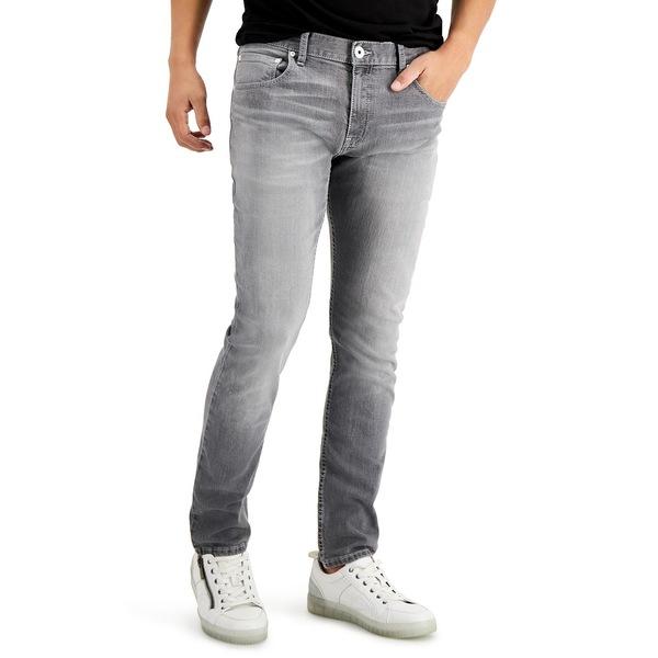 専門店では アイエヌシーインターナショナルコンセプト メンズ デニムパンツ ボトムス INC Men's Grey Skinny Jeans, Grey Wash, CLOVER DEPOT(クローバーデポ) e6715d0b