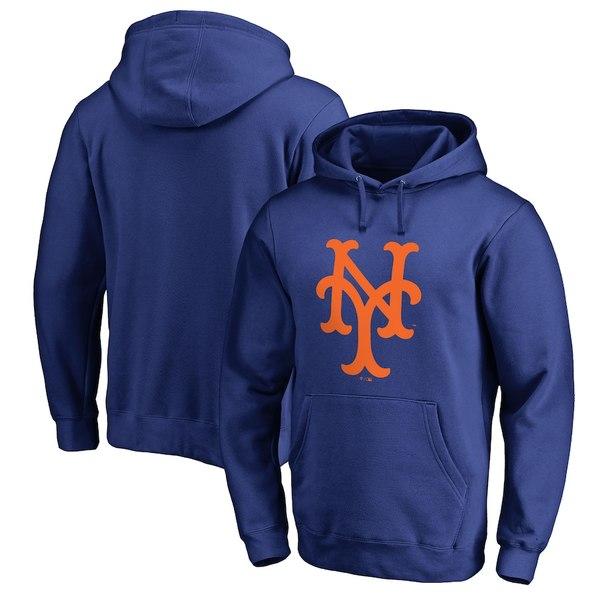 ファナティクス メンズ パーカー・スウェットシャツ アウター New York Mets Fanatics Branded Cooperstown Collection Huntington Big & Tall Pullover Hoodie Royal