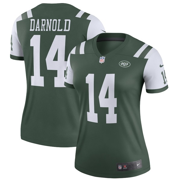 ナイキ レディース シャツ トップス Sam Darnold New York Jets Nike Women's Legend Jersey Green