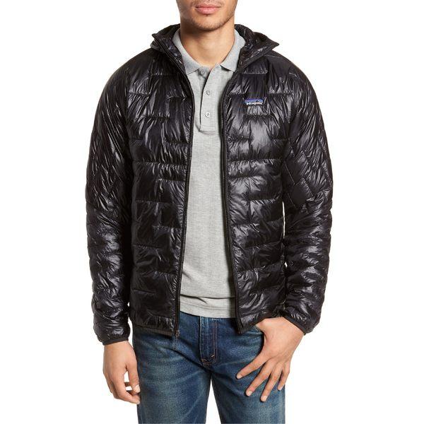 パタゴニア メンズ ジャケット&ブルゾン アウター Patagonia Micro Puff Jacket Black