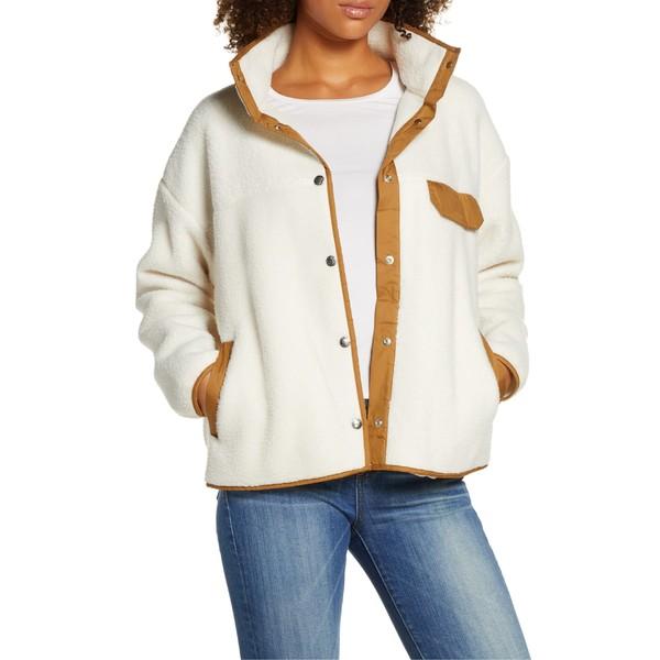 ノースフェイス レディース ジャケット&ブルゾン アウター The North Face Cragmont Fleece Jacket Vintage White/ Cedar Brown