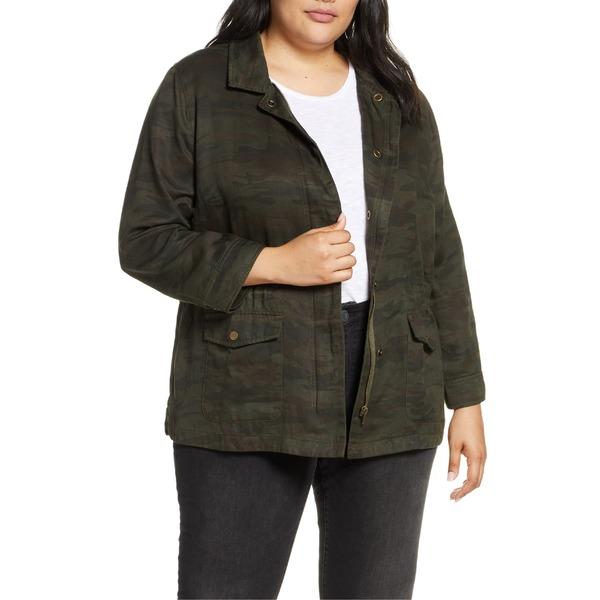サンクチュアリー レディース ジャケット&ブルゾン アウター Sanctuary Rowen Military Jacket (Plus Size) Nature Camo