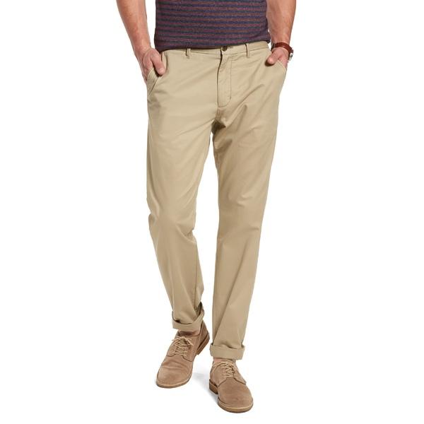 ワンナインオーワン メンズ カジュアルパンツ ボトムス 1901 Fremont Slim Straight Leg Chinos Tan Burrow