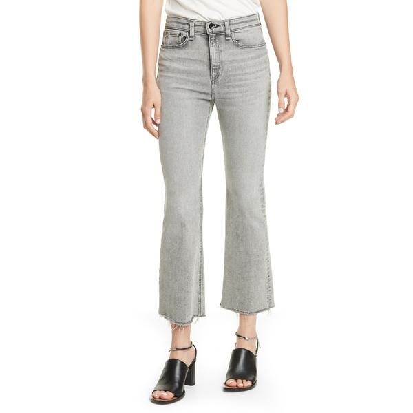 ラグアンドボーン レディース カジュアルパンツ ボトムス rag & bone Nina High Waist Flare Ankle Jeans (Broderick) Broderick