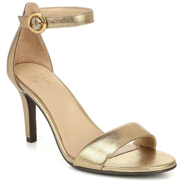ナチュライザー レディース サンダル シューズ Naturalizer Kinsley Ankle Strap Sandal (Women) Dark Gold Leather