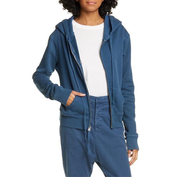 ニリロータン レディース パーカー・スウェットシャツ アウター Nili Lotan Callie Zip-Up Hoodie Vintage Blue