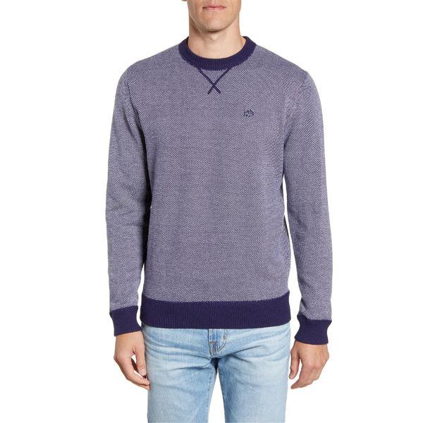 サウザーンタイド メンズ ニット&セーター アウター Southern Tide Pacific Highway Classic Fit Sweater True Navy