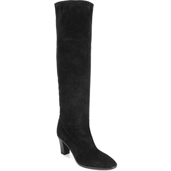 ヴィンス レディース ブーツ&レインブーツ シューズ Vince Casper Knee High Pull-On Boot (Women) Black