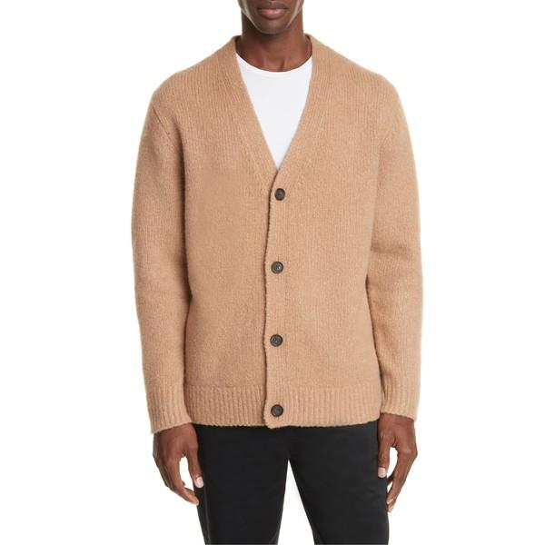 アクネ ストゥディオズ メンズ ニット&セーター アウター Acne Studios Kabelo Wool & Cashmere Blend Cardigan Light Brown