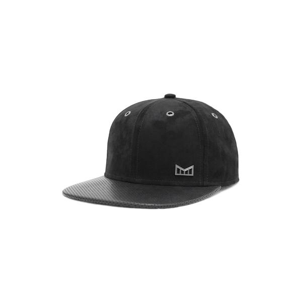 メリン メンズ 帽子 アクセサリー Melin 'The Drive' Classic Fit Flat Brim Baseball Cap Black/ Black