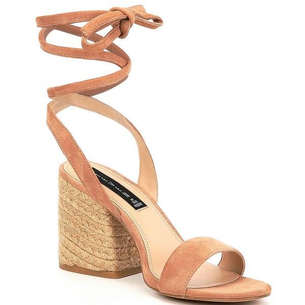 スティーブ マデン レディース サンダル シューズ Steven New York Yasi Ankle Wrap Dress Sandals Sand