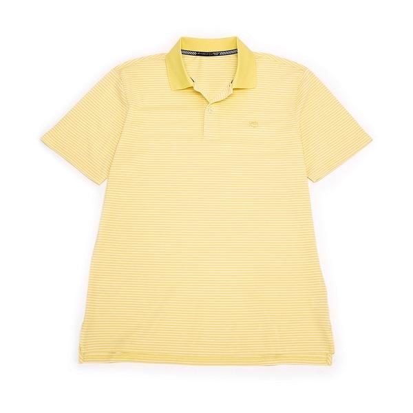 サウザーンタイド メンズ ポロシャツ トップス Roster Stripe Performance Stretch Short-Sleeve Polo Shirt Sunshine