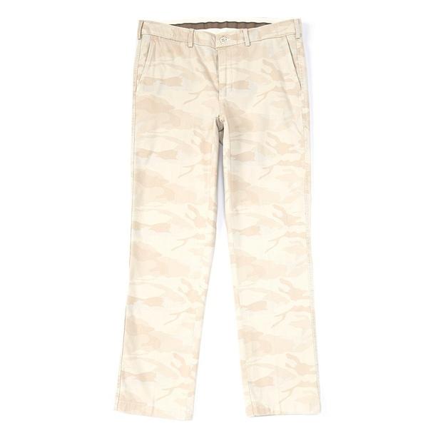 クレミュ メンズ カジュアルパンツ ボトムス Soho Slim-Fit Camo Print Comfort Stretch Pants Stone