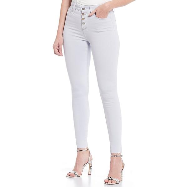 ジョーズジーンズ レディース デニムパンツ ボトムス The Charlie Exposed Button Front Raw Hem Ankle Jean Illusion Blue