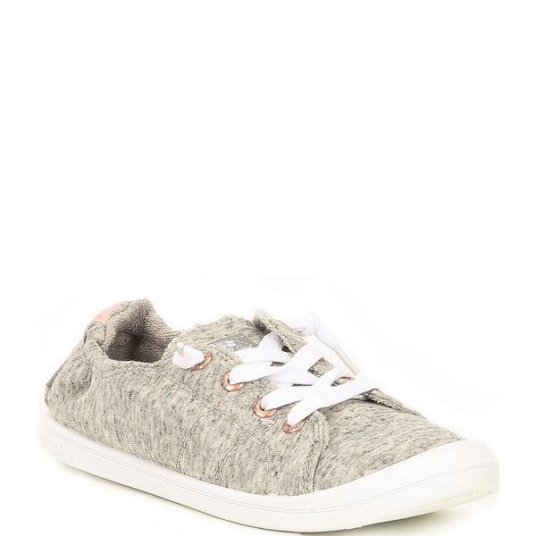 ロキシー レディース スニーカー シューズ Bayshore III Jersey Slip-On Sneakers Dark Grey