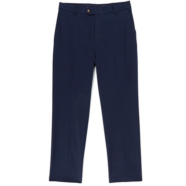 ランドツリーアンドヨーク メンズ カジュアルパンツ ボトムス TravelSmart CoreComfort Big & Tall Flat-Front Classic Relaxed Fit Chino Pants Dark Navy
