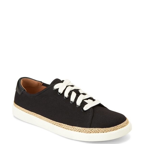 バイオニック レディース スニーカー シューズ Hattie Canvas Sneakers Black Black
