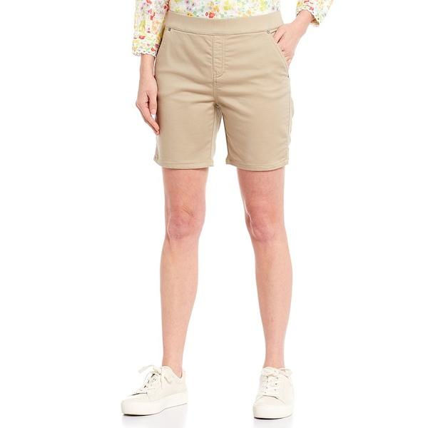 イントロ レディース カジュアルパンツ ボトムス Rose Stretch Pull-On Shorts Classic Khaki