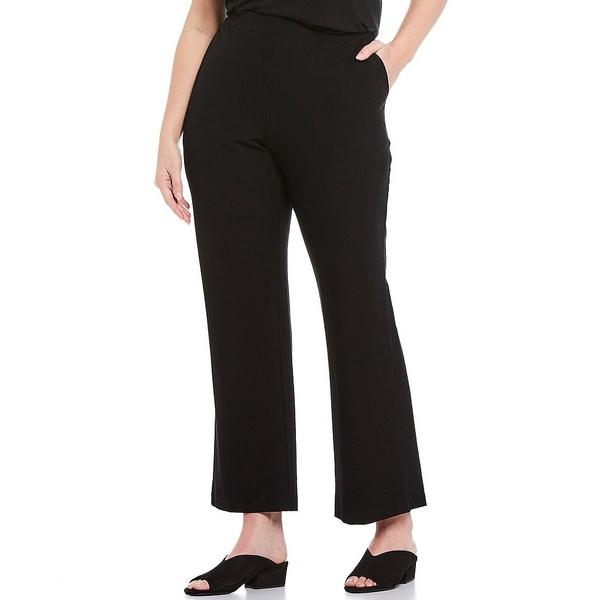 エイリーンフィッシャー レディース カジュアルパンツ ボトムス Plus Size Straight Leg Pant Black