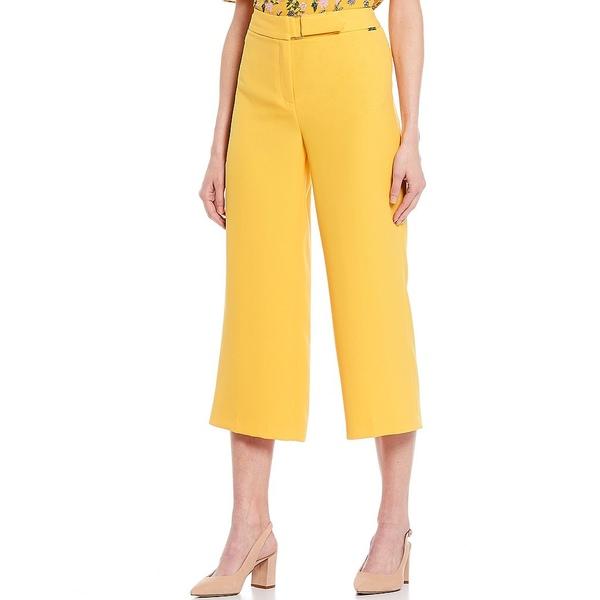 ティー・タハリ レディース カジュアルパンツ ボトムス Wide Leg Soft Crepe Self Belt Crop Pant Sun Porch